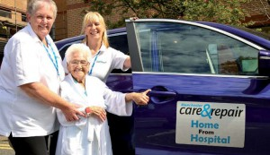 Manchester care and repair home from hospital service