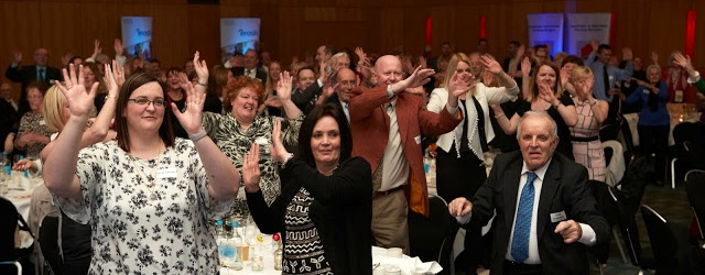 Revellers at the 2016 Eac National Housing for Older People Awards